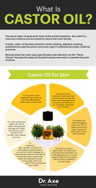 Castor Oil Speeds Up Healing & Improves Your Immunity