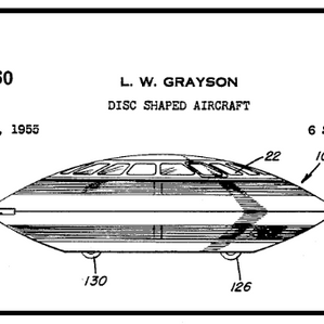 Human-Made Flying Saucers -  120 Patent Documents Show Evidence