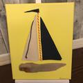 Light Blue Sailboat