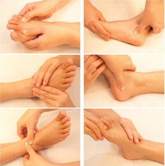 Massage These Six Powerful Spots on Your Feet For Health and Relaxation!