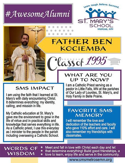 SMS Awesome Alumni_Father Ben Kociemba (