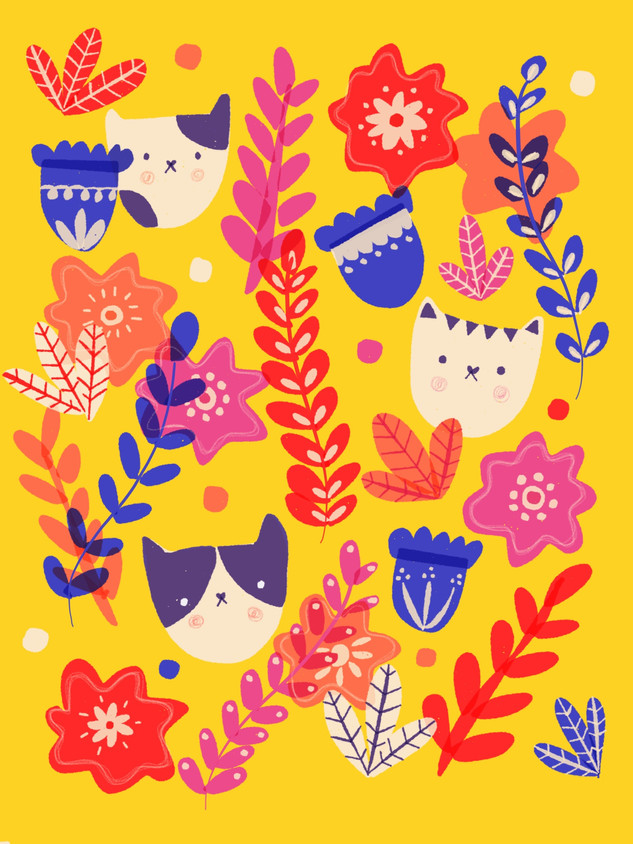 Pattern Gatitos