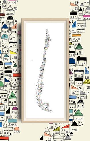 """Mapa """"Nuestra Casa"""" para Mappin.cl"""