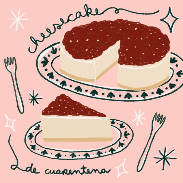Cheesecake de cuarentena