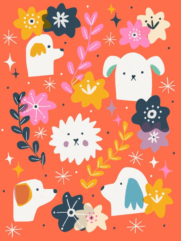 Pattern Perritos