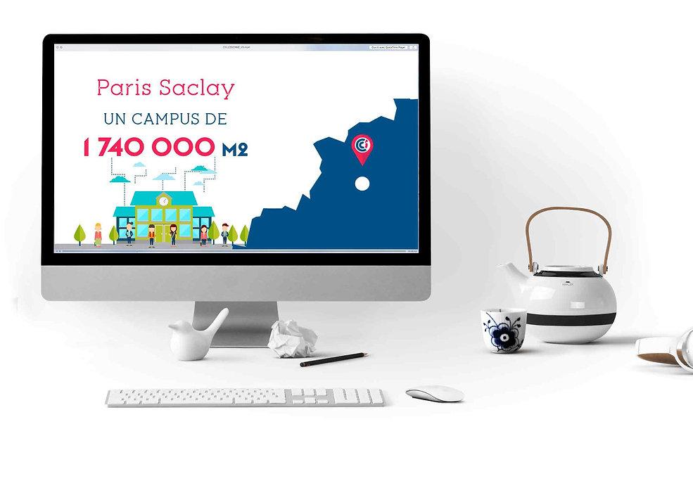 Video motion design CCI Essonne