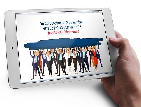 CréatiVidéCréation motion design CCI Essonne