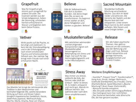 20 Ätherische Öle gegen Kummer, Sorge und Angst