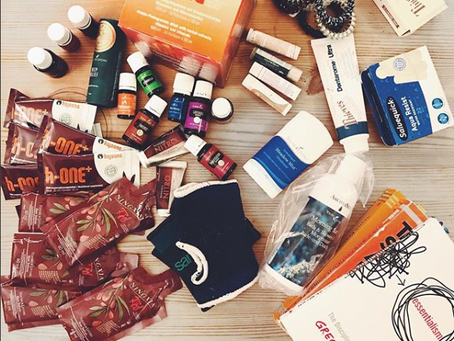 What I pack for oversea travels and how I approach Lyme Disease!