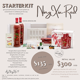 NingXia Red Starterkit Young Living