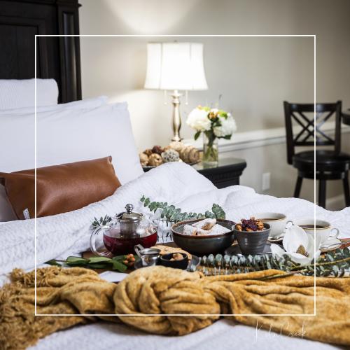 Enjoy NEST Brunch in Bed! Hotel guests enjoy the BEST of NEST!