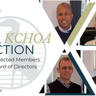 The KCHOA 2021 Election Results are in...
