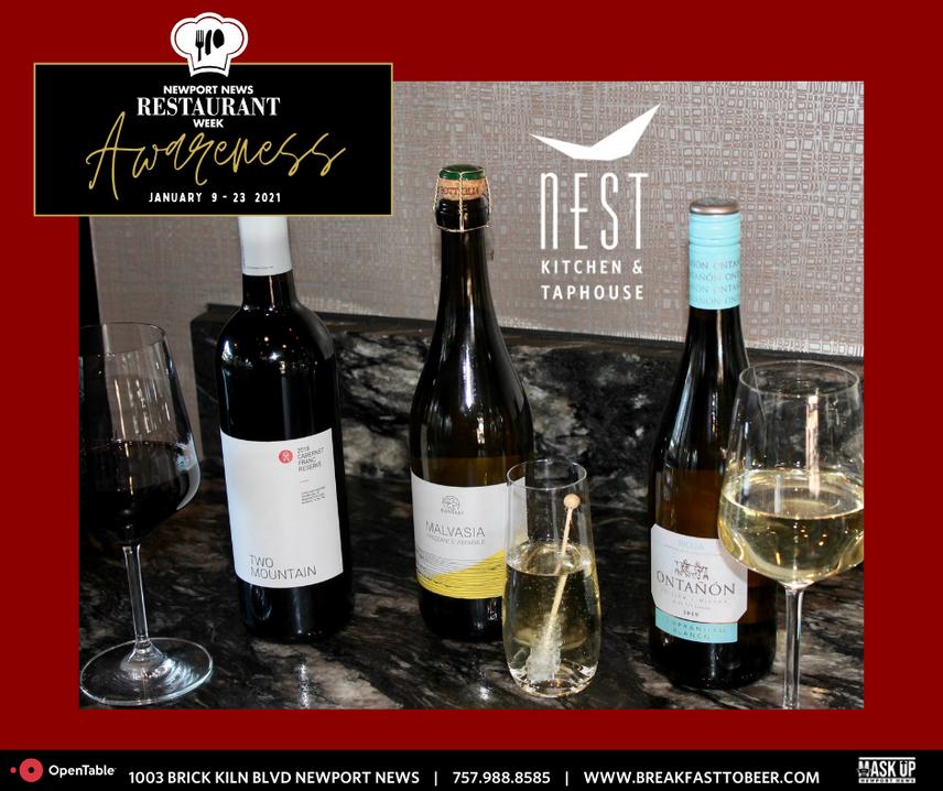 NNWR Wine Pairings