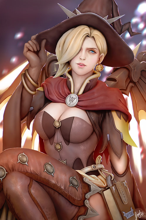"""11"""" x 17"""" Mercy Special Edition Large Poster Autograph"""