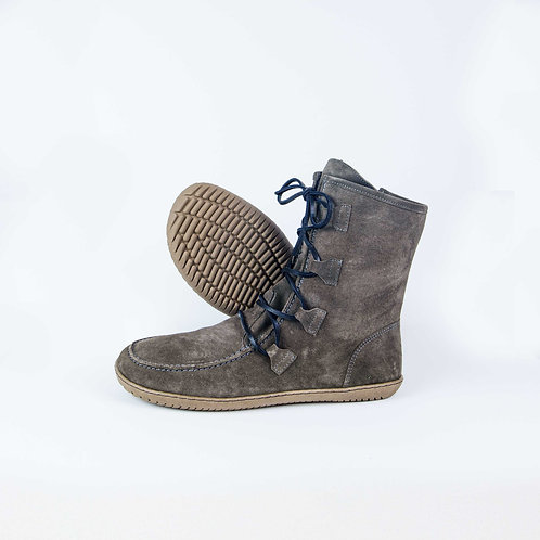 Groundies Alaska Leather Grey Laces