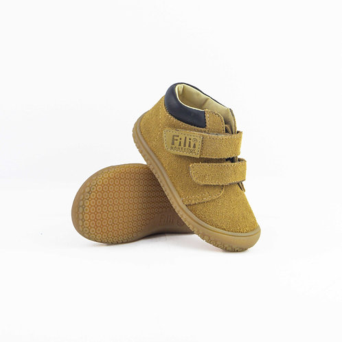 Filii Varan Leather Sand-Chocco Velcro