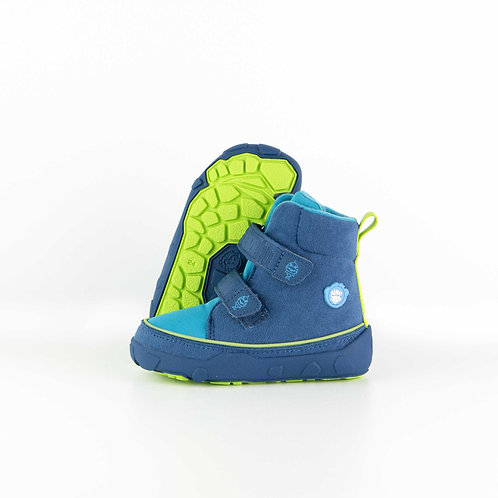 Affenzahn Mid Boot Shark Vegan Maroccan Blue Ve