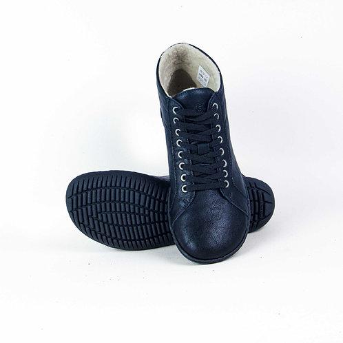 Groundies Oslo Leather Black
