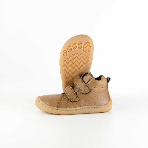 Froddo Barefoot Leather Cognac Velcro