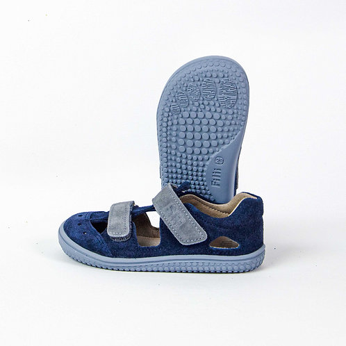 Filii Kaiman Velours Leather Ocean Velcro