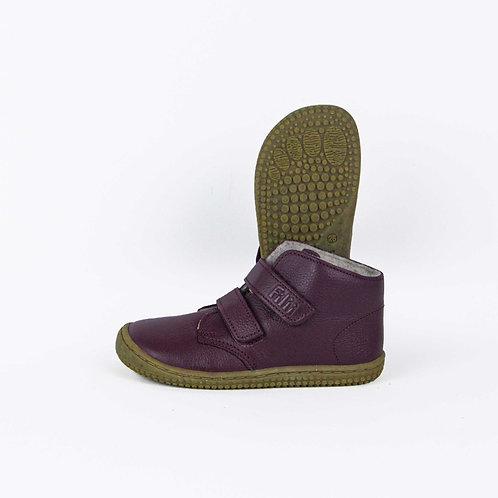 Filii Soft Feet Bio Nappa Fleece Cherry Velcro