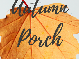 Autumn Inspiration: 12 Days of Fall, Day 3