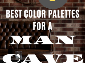 The 3 Best Color Palettes for a Man Cave