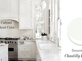 Farmhouse Kitchen: These Absolutely Charming White Paint Colors Are...The Only 3 You'll Need