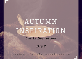 Autumn Inspiration: 12 Days of Fall, Day 2