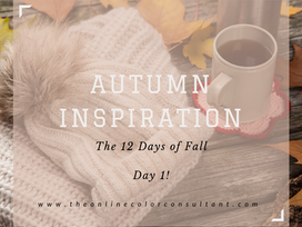 Autumn Inspiration: The 12 Days of Fall, Day 1