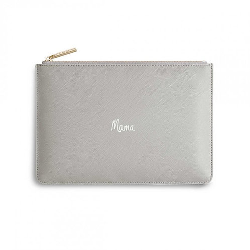Katie Loxton Perfect Pouch Mama Grey