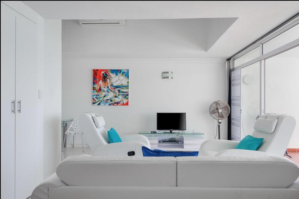 Livingroom Unit 54 Beach side