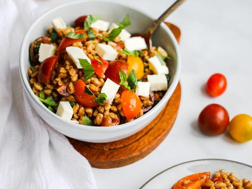 Caprese Farro Salad