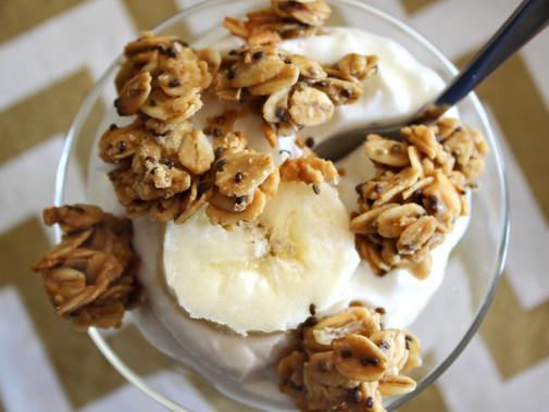 Peanut Butter Honey Granola