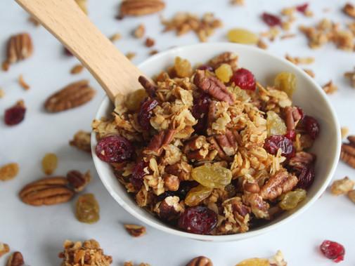 "Fruit & Nut ""Cyclone"" Granola"