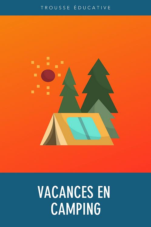 Trousse éducative - Vacances en camping