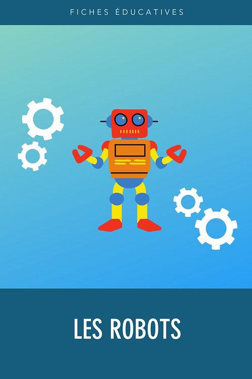 Fiches éducatives - Les robots