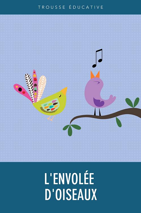 Trousse éducative - L'envolée d'oiseaux