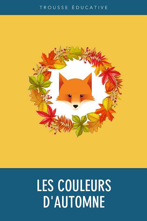 Trousse éducative - Les couleurs d'automne