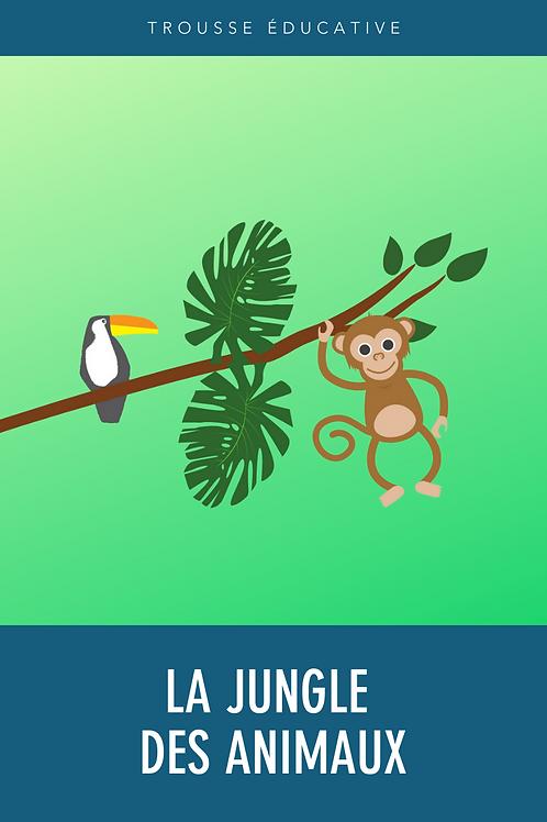 Trousse éducative - La jungle des animaux