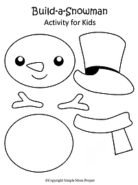 Printable Snowman Craft Template.png