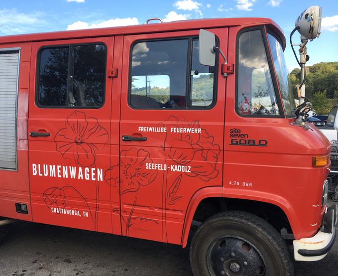 Blumenwagen: Brand Identity
