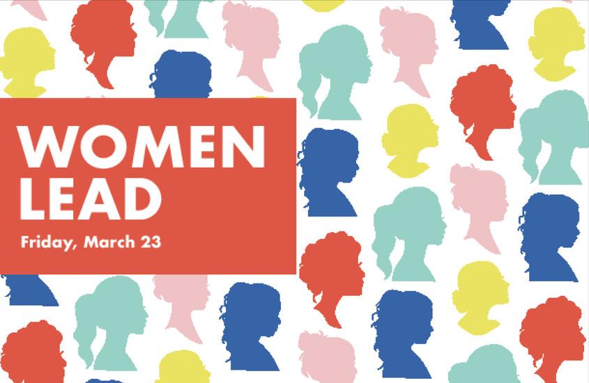 AIGA Chattanooga: Women Lead event design