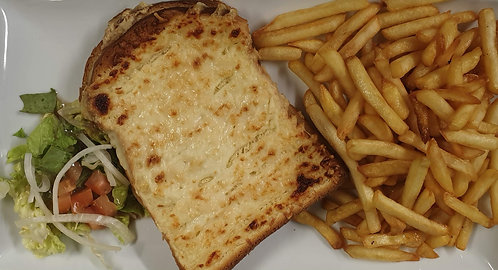 Croque Monsieur Frites
