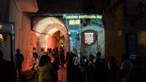 video mapping - CEGLIE FOOD FRISELLA FEST