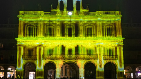 EVOLUTION - video mapping contest LUZ Y VANGUARDIAS
