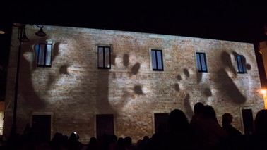 video mapping Palazzo Marchesale - Santerno in Colle