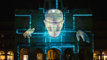 EVOLUTION - video mapping contest LUZ Y VANGUARDIAS
