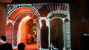 video mapping - CEGLIE FOOD FRISELLA FEST