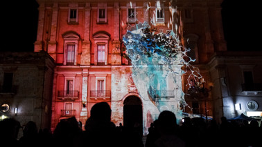 Video Mapping Palo del Colle